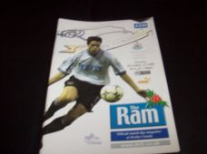 Derby County v Newcastle United, 2000/01